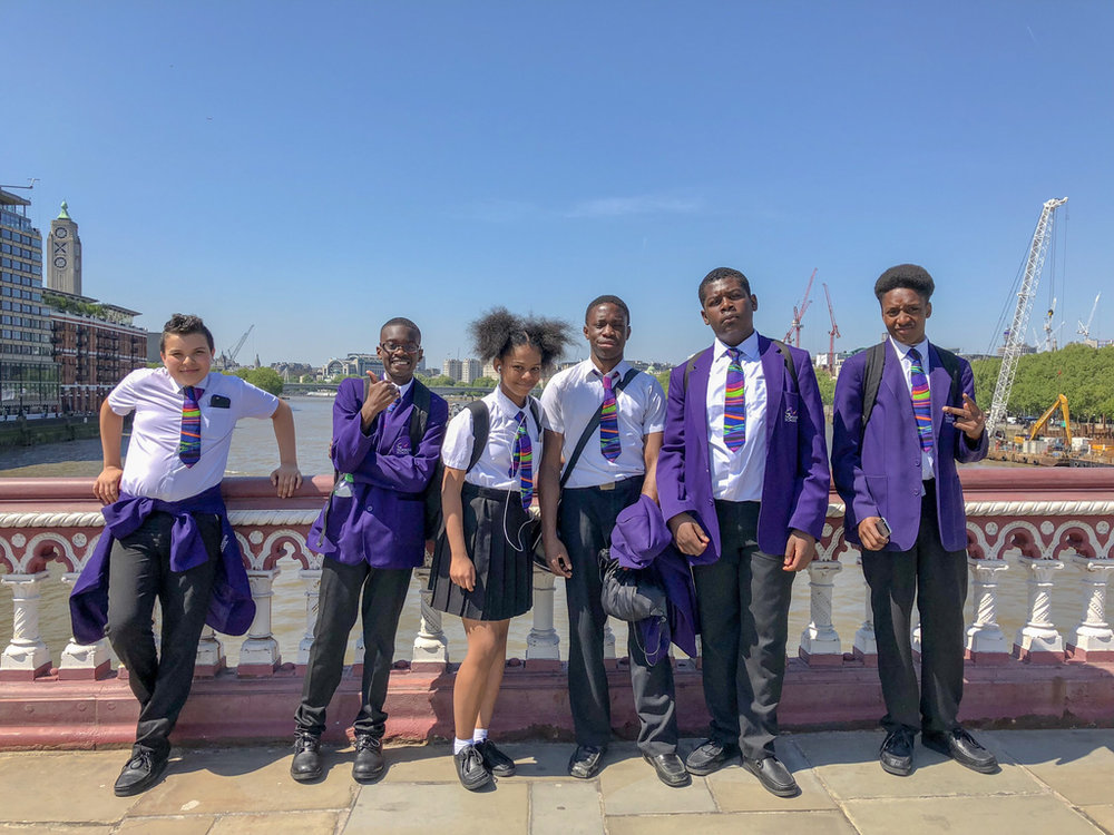 We Rise Brixton - futures orienteering trip