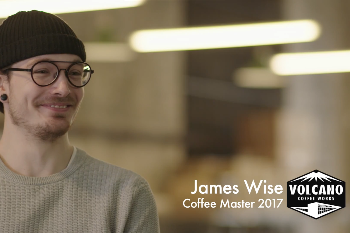 James Wise, Coffee Marter 2017 - Volcano Coffee Works